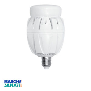 لامپ 40W صنعتی فن دار SMD برند S.P.N پایه E27 سایز 78x155mm