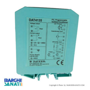 ترانسمیتر دما ریل مونت داتکسل ایتالیا مدل DAT4135