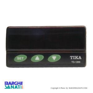 نمایشگر و کنترلر رطوبت دما مدل TD-1200 برند TIKA